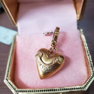 Gold Juicy Couture Heart Charm